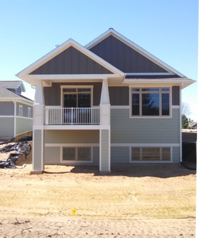 Finished Home Exterior in Eau Claire